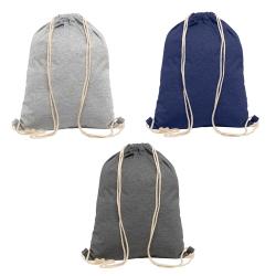 Saco mochila em polar, com asas em algodão