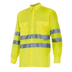 Camisa alta visibilidade manga comprida
