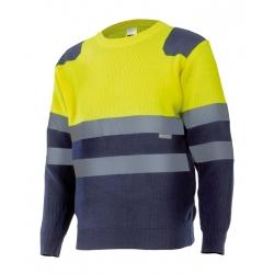 Camisola bicolor alta visibilidade