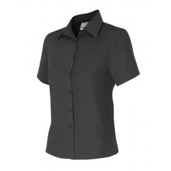 Camisa mulher cintada de manga curta