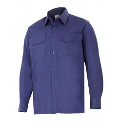 Camisa de algodão de manga comprida