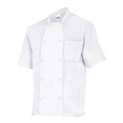 Casaco cozinheiro manga curta