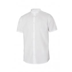 Camisa gola mao stretch manga curta homem