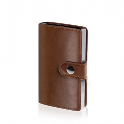 Carteira de homem, com porta-cartões, caixa de oferta