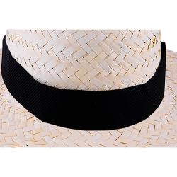 Fita colorida para chapéu, em TNT