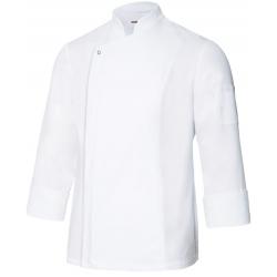 Casaco de cozinheiro com tecido transpirável