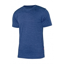 T-shirt técnica jaspeada