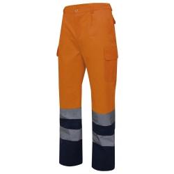 Calça bicolor alta visibilidade