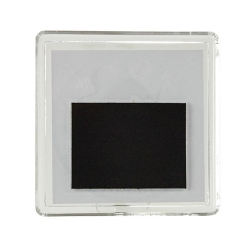 Crachá magnético MAG-57 quadrado (57x57mm)