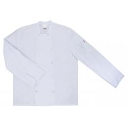 Casaco cozinheiro manga comprida com molas