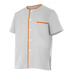 Casaco pijama de manga curta