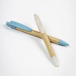 Esferográfica em papel e fibra de trigo