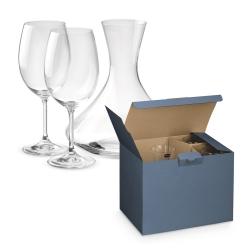 BORDEAUX.Conjunto para vinho.