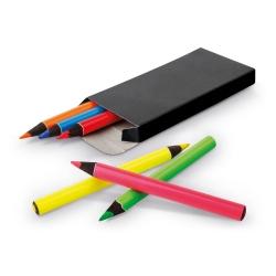 MEMLING.Caixa com 6 lápis de cor.