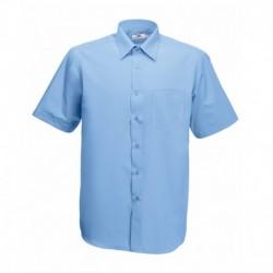Camisa Manga Curta Poplin - 55% Algodão / 45% Poliéster