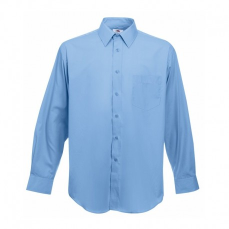 Camisa Manga Comprida Poplin - 55% Algodão / 45% Poliéster
