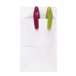 Forra bolsos em PVC para esferográficas