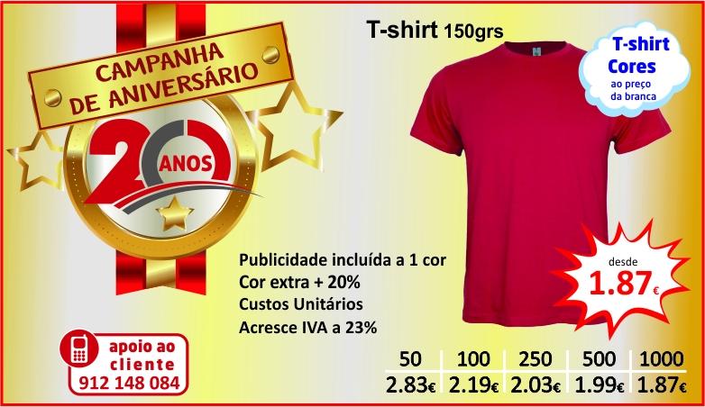 Campanha Anioversário  tshirts